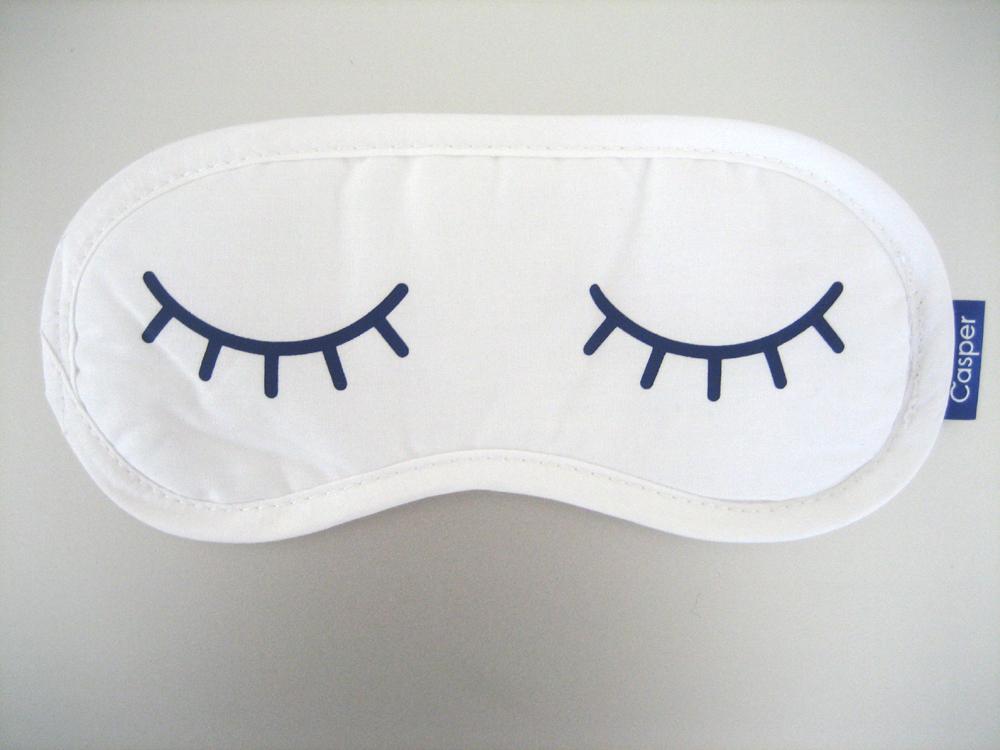 schlafmaske mit individuellem firmenlogo